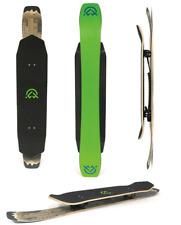 "Landyachtz Mckenski Patin de Neige 37 "" Vert Freestyle Sculpteur Snowboard 131cm"
