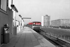 PHOTO  NETHERLANDS AMSTERDAM TRAIN 1978 GAASPERPLAS GVBA TRAIN APPROACHING