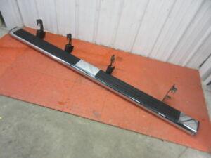 07 08 09 10 11 12 13 Silverado Sierra Crew Cab Right Running Board Nerf Bar Chro