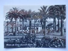 Sanremo Riviera dei Fiori GARDEN BAR Scooter vecchia cartolina