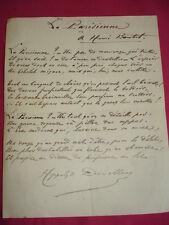 """CURIOSA / Hyppolite Devillers 1767-1837  """" La Parisienne """" à Henri Boutet"""