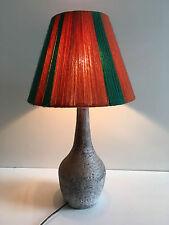 Ancienne lampe en céramique   vintage années 50 60