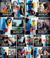 BLOW UP Italian fotobusta photobusta movie posters x10 MICHELANGELO ANTONIONI NM