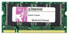256mb Kingston Ddr1 Ram Pc2100 266 Mhz So-Dimm Ktd-Insp8200/256 2.5v