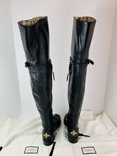 Gucci Dionysus Leather Over The Knee Boots  RRP£1980 New