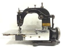 ANTIQUE ULTRA RARE SPECIAL TIE SEWING MACHINE LINING CENTRALIZING MACHINE CO.