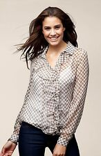 Polyester Business Classic Blouses for Women