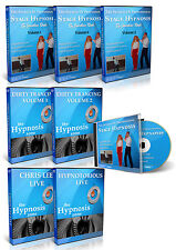 PROFESSIONAL STAGE HYPNOSIS HOME STUDY DVD VIDEO CD HYPNOTIST HYPNOTISM COURSE