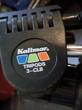 """Pristine Kalimar 3-Clb 48"""" Adjustable Prof Tripod See Detailed Pictures A Beauty"""