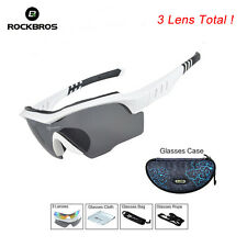 RockBros Cycling Sports Glasses Polarized Lenses Sunglasses Goggles UV400