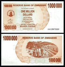 ZIMBABWE 1.000.000 Dollars 2008 UNC - P 53