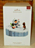Hallmark 2019 Frosty Friends 40th Anniversary Magic Keepsake Ornament