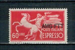 TRIESTE A - 1950 ESPRESSO DEMOCRATICA - SERIE COMPLETA ** -  MNH
