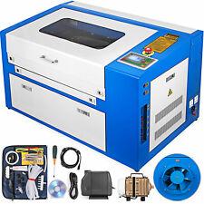 50W CO2 laser graviermaschine Laser Engraving Engraver mit eigner Drehachse