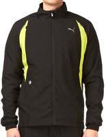 Puma Warm Up Mens Running Jacket - Black