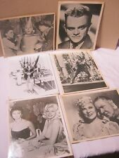 W.C. Fields Judy Garland Wizard of Oz Lahr & More! Vtg. Photo Prints   T*