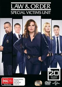 Law And Order - Special Victims Unit - Season 20 DVD