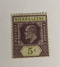 Sierra Leone Sg 106 LMM Cat £26