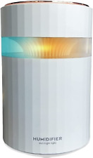 Unizvke Small Baby Humidifier 900Ml(White) for Plants Babies,Cool Mist Humidifie