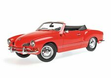 1970 Volkswagen Karmann Ghia in Red  in 1:18 Scale from Minichamps  155054030