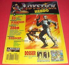Magazine Joystick Hebdo [n°9 4 Janv 1989] Amstrad CPC Amiga Atari ST MSX *JRF