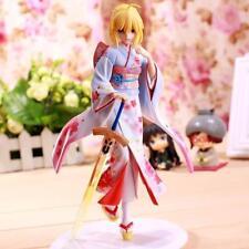 Aniplex Fate/stay night UBW Saber Haregi Ver. Kimono PVC Figure Anime dolls UK