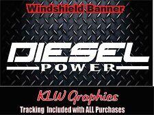 Diesel Truck Power * Vinyl decal Sticker Diesel Truck Crew Cab 1500 2500