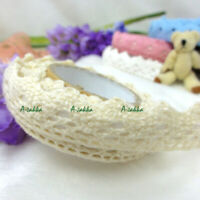 Roll Adhesive Crafts Removable Deco Sticker Single Trim Lace Fabric Tape Blonde