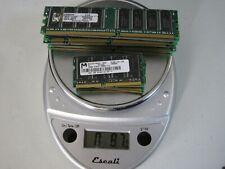 16 piece lot Memory RAM GOLD RECOVERY Computer Parts Precious Metal Scrap DDR