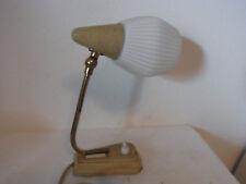 Mid Century 50's German Desk Nightstand Bedside Lamp  #<