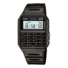 Casio Men's 8-Digit Digital Calculator Resin Band 35mm Watch CA53W-1