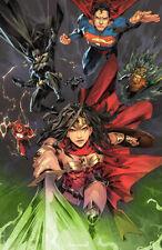 Justice League #1 - Kael Ngu - Cms Virgin Variant - 2018 Nm or better - Htf!