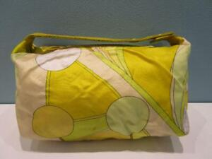 Emilio Pucci Hand Pouch yellow