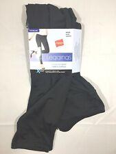 Hanes Women's Premium Comfort Soft Black Leggings - M