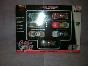 1997 Darrell Waltrip 7 Piece Collector Set Of 25 Years In Racing. By Revell.