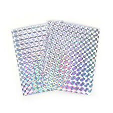 4X 10cm X 20cm Holographic Adhesive Film Flash Tape For Lure Making Fly Tying LJ