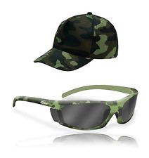 kit occhiali mimetici polarizzati + cappello pesca spinning lenti  polarizzate aad0ebc24423