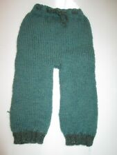 """Baby Diaper Cover Woolie Soaker Wool Hand Knit Prewashed Lanolized Pale Blue 15"""""""