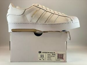 Adidas Originals Superstar Bold Womens Shoes Size 11 Cloud White FV3334
