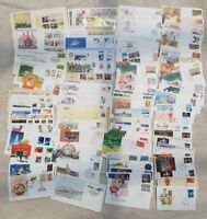 Bulk Lot FDC Envelopes Australia 1980's  Mix of Envelope Sizes  (31)