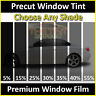 Fits 2014-2018 Nissan Versa Note (Front Kit) Precut Window Tint Premium Film Diy