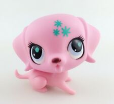 Hasbro Littlest Pet Shop LPS Animals Toys #99 Seven Angle Star Naughty Pink Dog