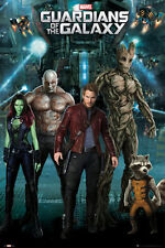 "GUARDIANS OF THE GALAXY POSTER ""GROUP"" LICENSED ""BRAND NEW"" MARVEL COMICS"
