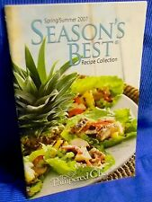 Pampered Chef Season's Best Recipe Collection Cookbook Spring/Summer 2007