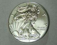 2019 American Silver Eagle 1 oz .999 Fine Silver Dollar Uncirculated