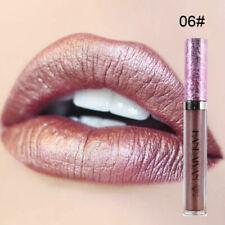 *UK SELLER* 6 Colours Waterproof Shimmer Liquid Lipstick Long Lasting Lip gloss.