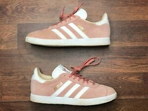 Adidas Gazelle Size 6.5 Womens Pink CQ2186 22.5 cm Sneakers Shoes
