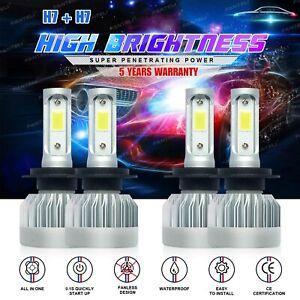 H7 H7 Combo CREE 3400W 510000LM LED Headlight Kits High Low Beam HID 6000K Bulbs