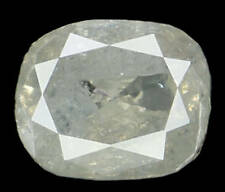 Natural Loose Diamond Cushion Grey Color I3 Clarity 5.40 MM 0.71 Ct L4751