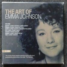 The Art of Emma Johnson. 5 CDs in card cases in card box.Sanctuary Records 2004.